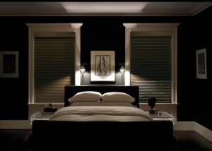 Silhouette®  A-Deux™  Window Shadings in the Bedroom