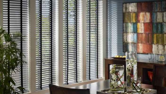Precious Metals blinds for light control